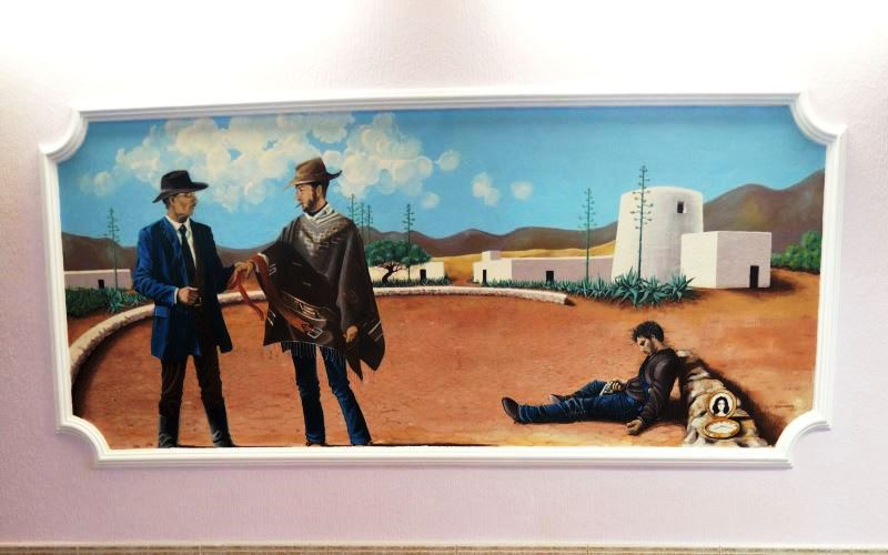 Final scene For a Few Dollars More